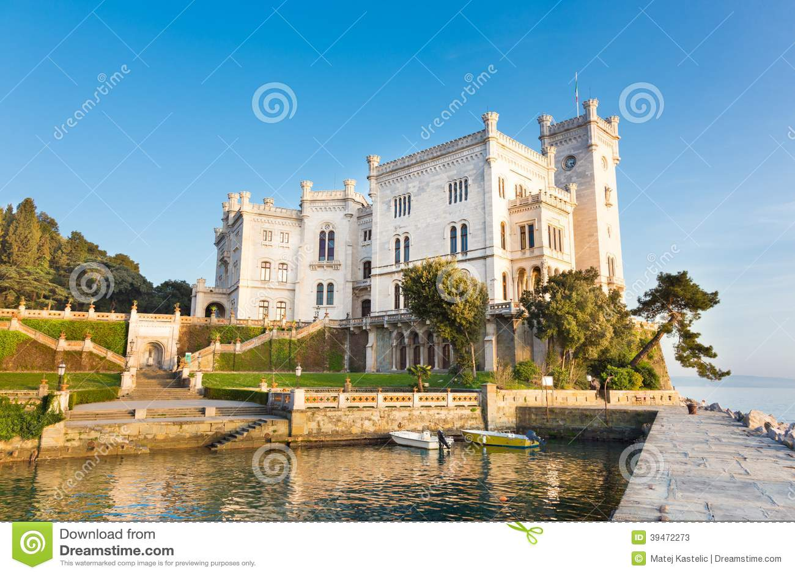 Gratis slott i italien