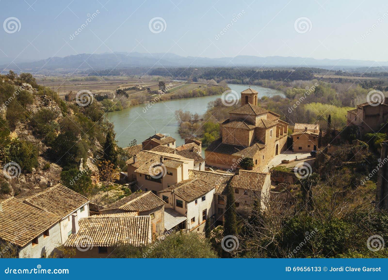 Miravet village in Catalunya, Spain