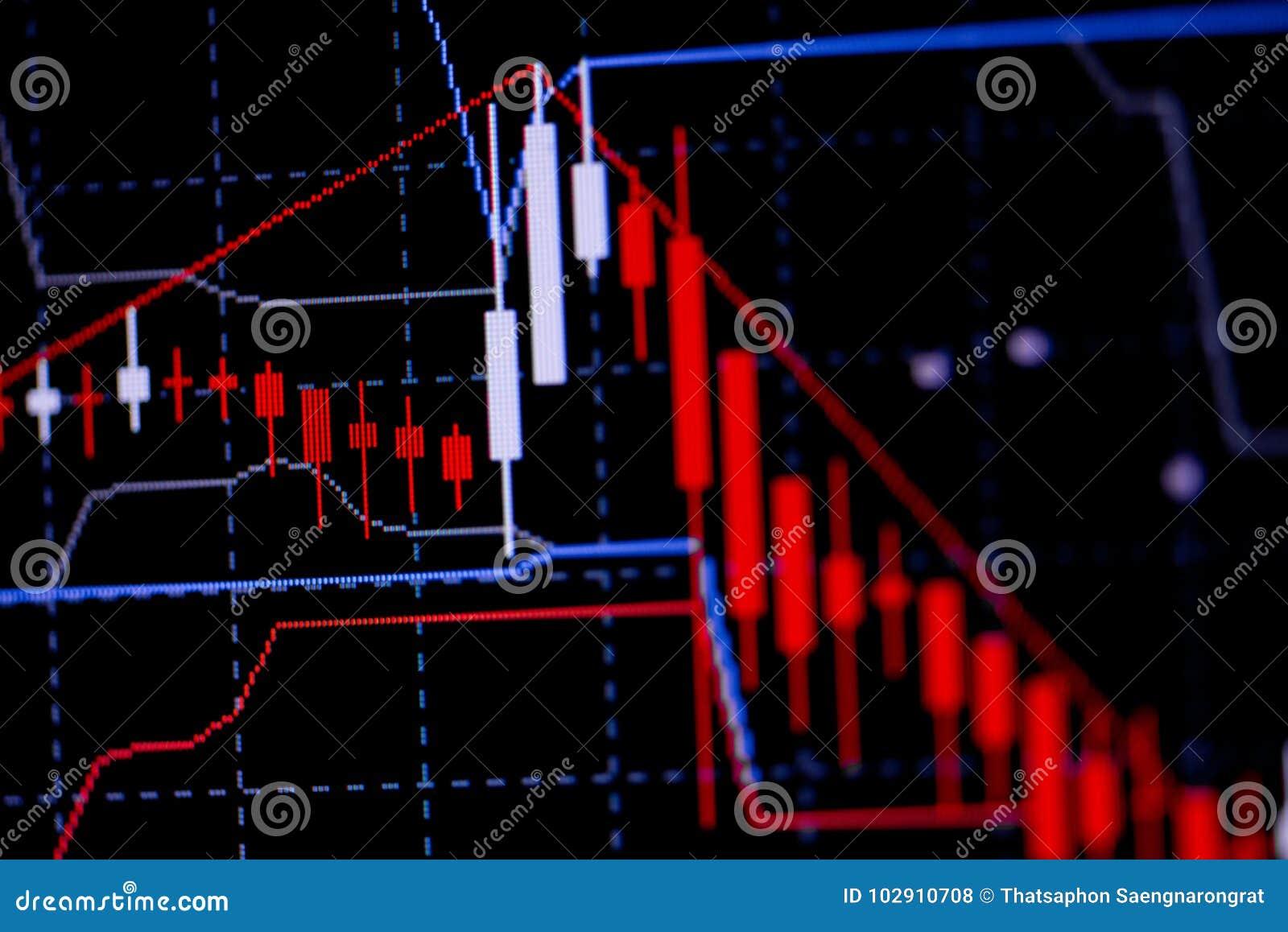 Mirez le diagramme de graphique de bâton avec l indicateur montrant le point à la hausse ou