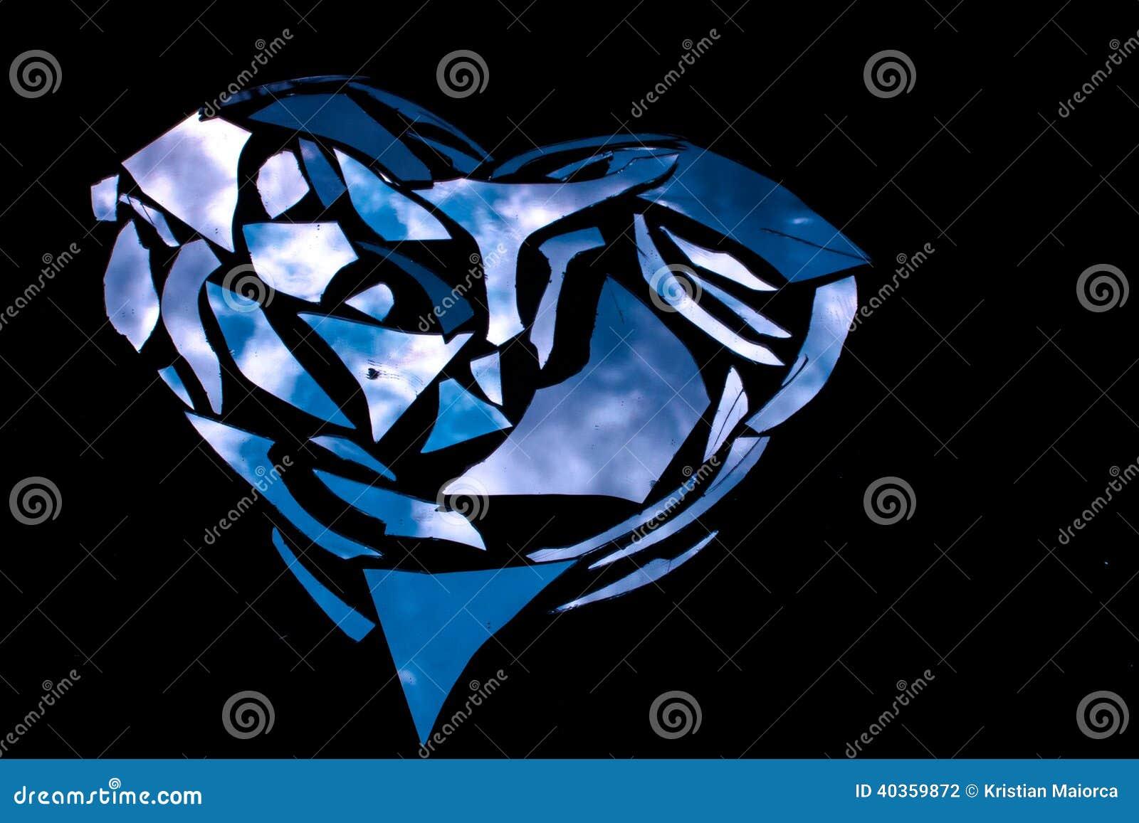 Miroir bris photo stock image 40359872 for Le miroir brise