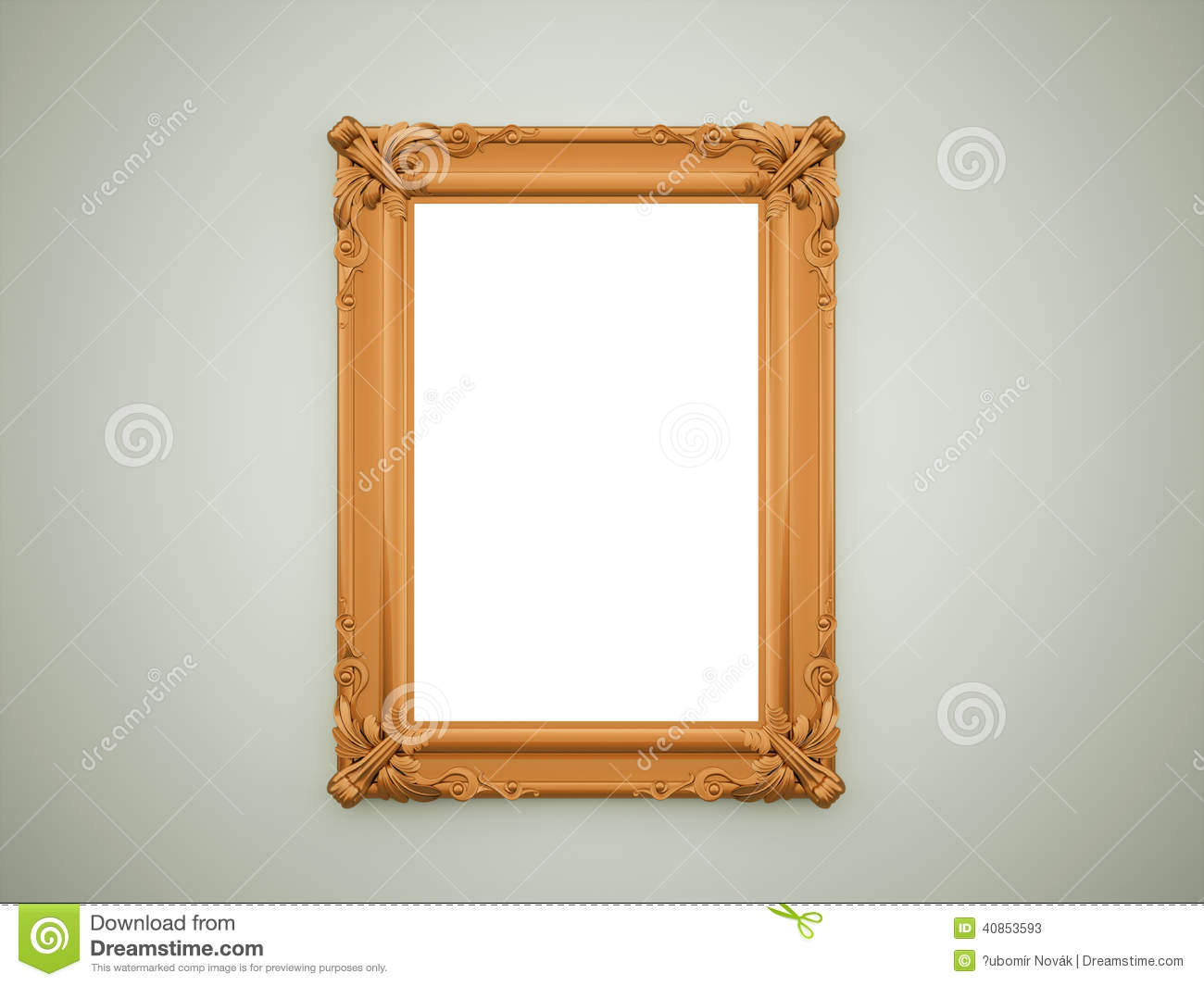 Miroir orange de vintage illustration stock image 40853593 for Miroir texture