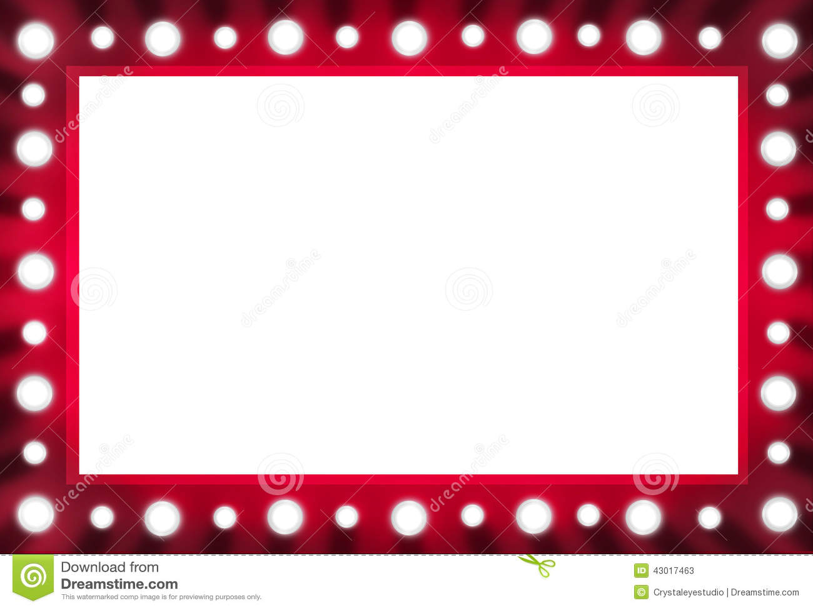 Miroir rouge d 39 ampoule d 39 arri re sc ne avec l 39 espace blanc for Miroir rouge