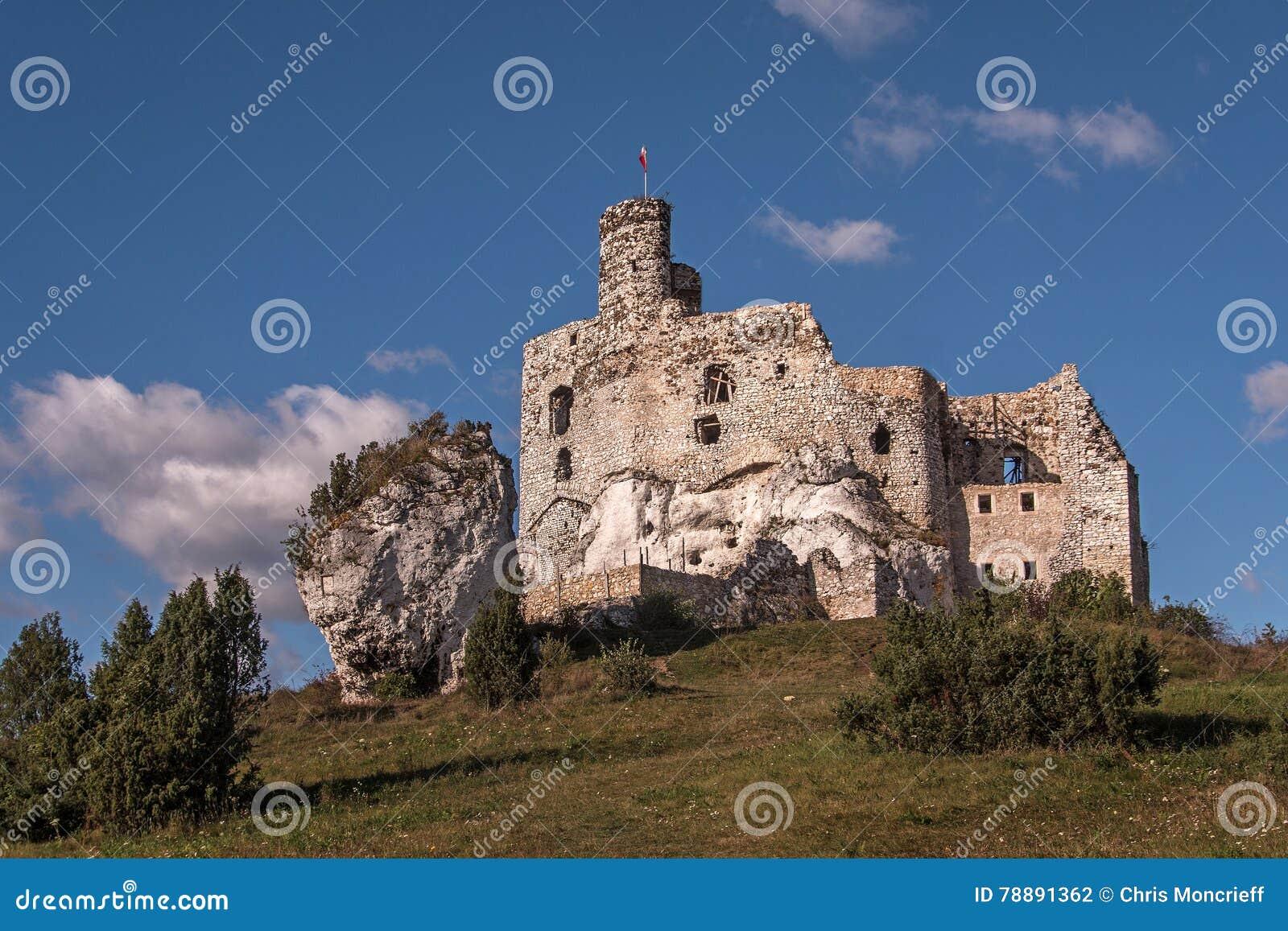 Mirow Castle In The Jura Poland