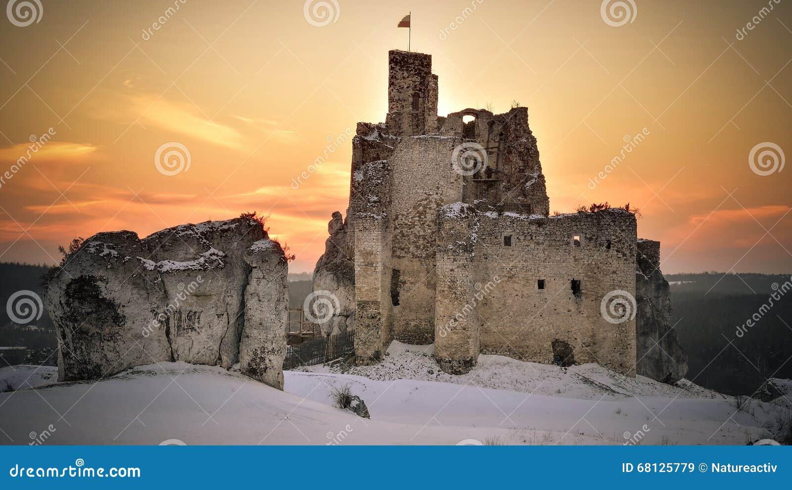 Mirow castle in Poland.