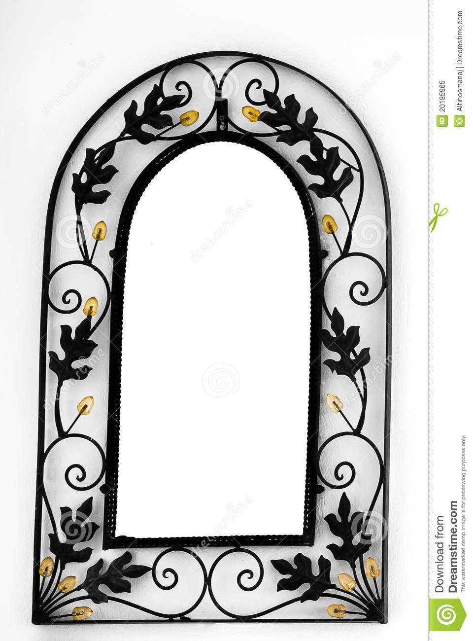 Mirror Frame on the wall