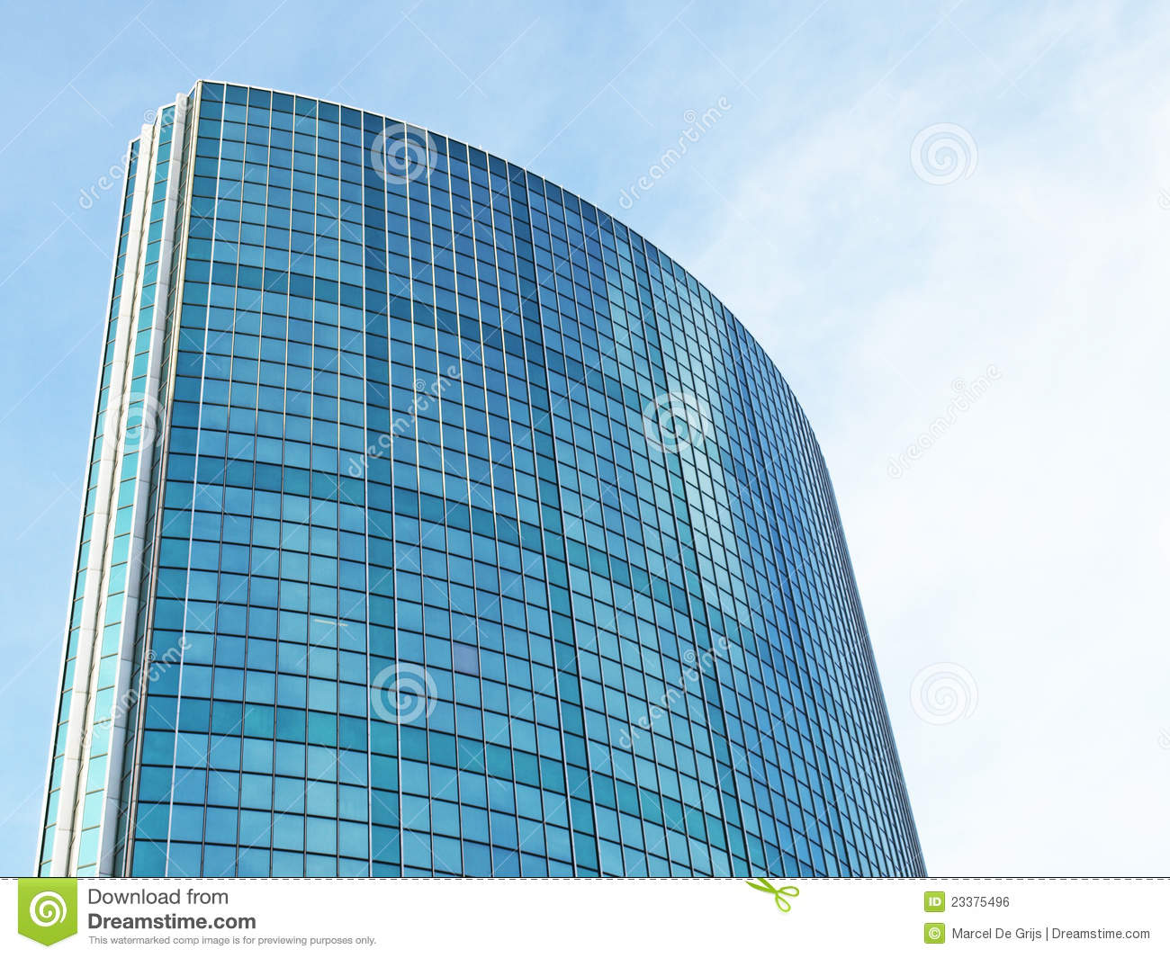 Building Glass Window : Mirror glass building royalty free stock image
