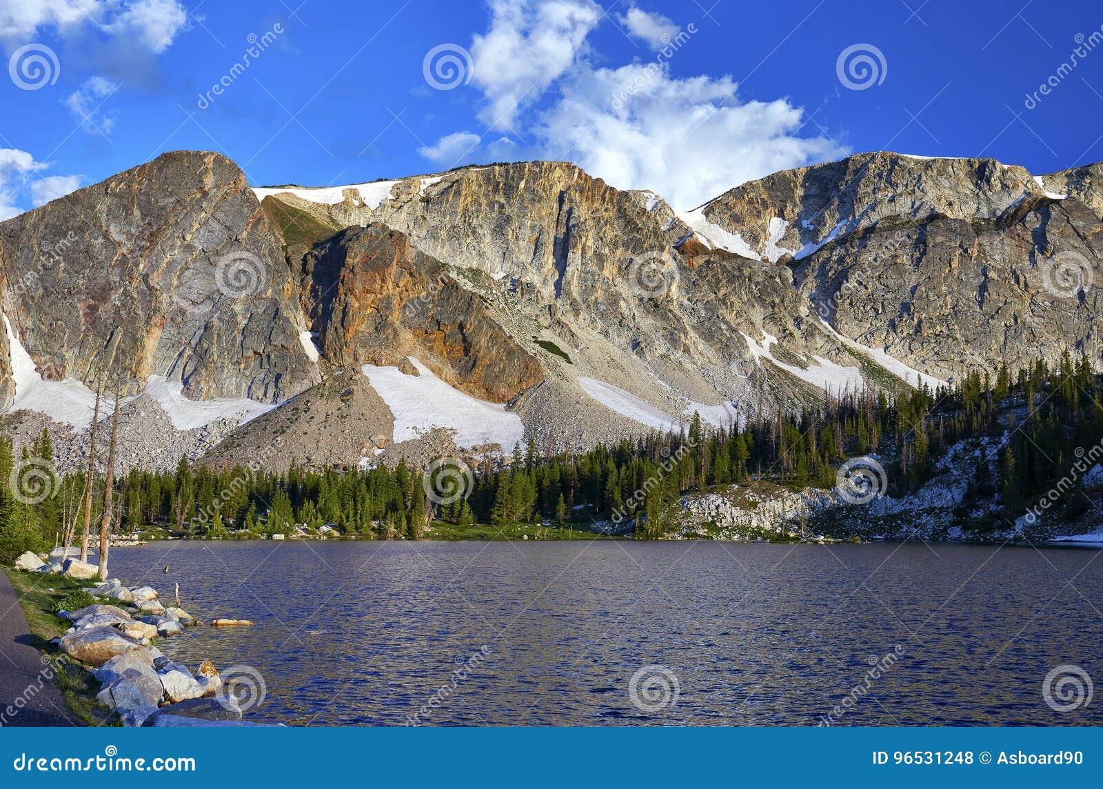Mirror Lake, Snowy Range, Wyoming