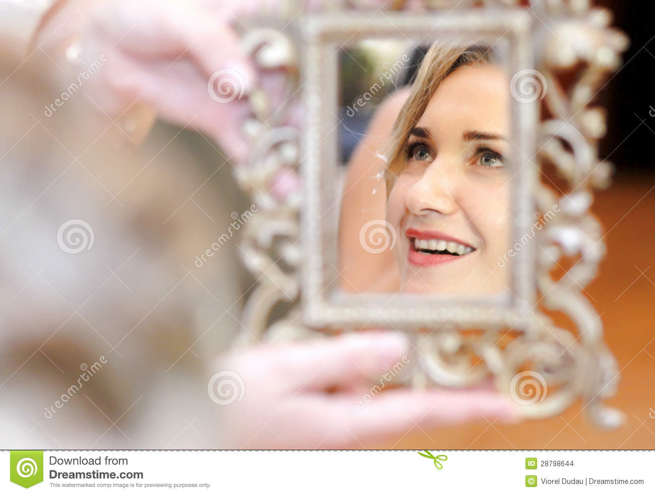 Mirror reflection stock photo image of reflecting mirror for Mirror reflection