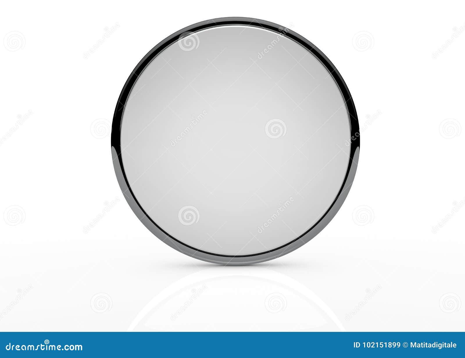 mirror stock illustration illustration of circular 102151899