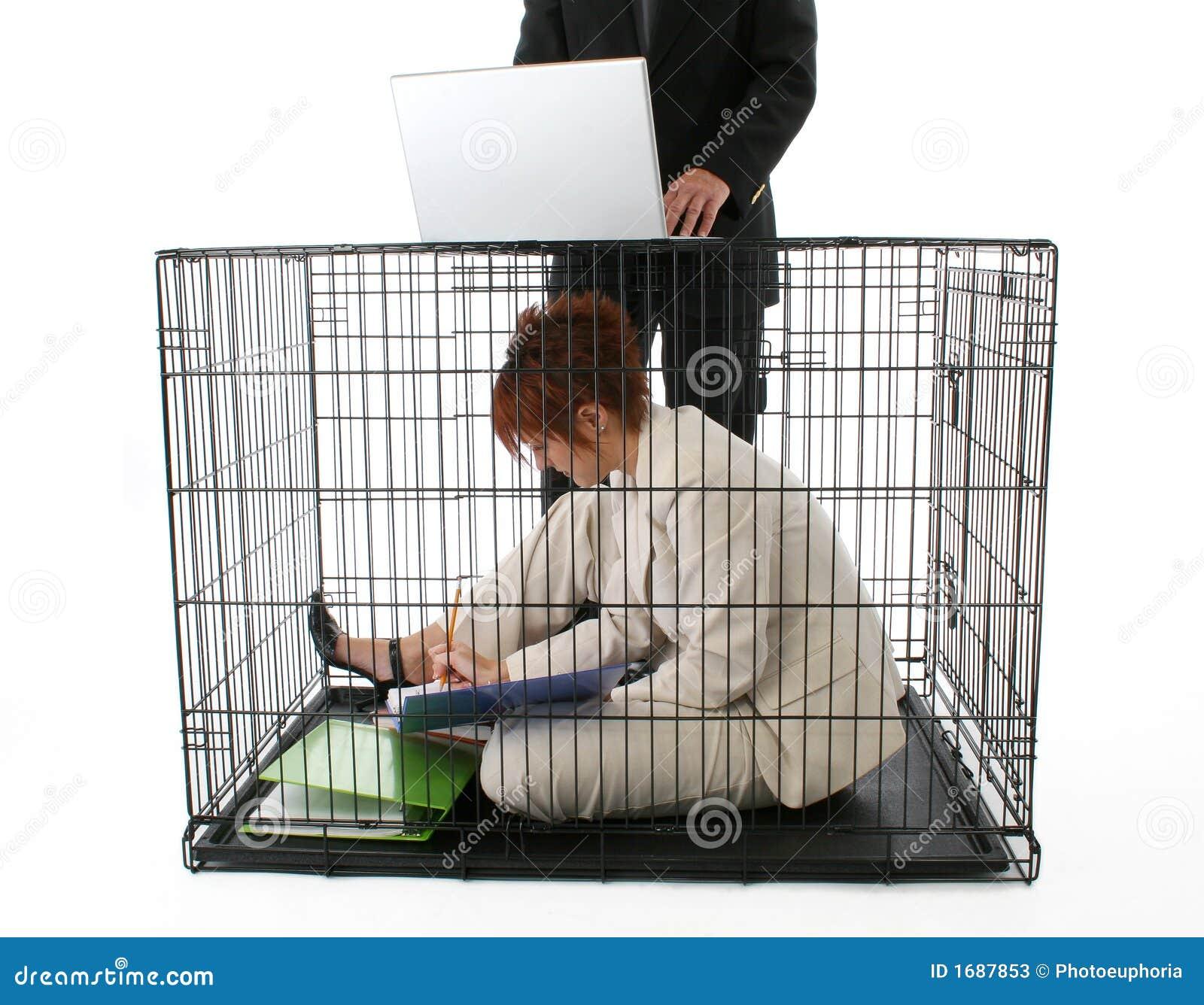 Mis en cage