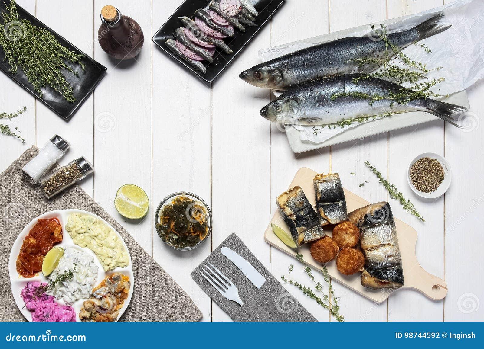 Mischung von Meeresfrüchten