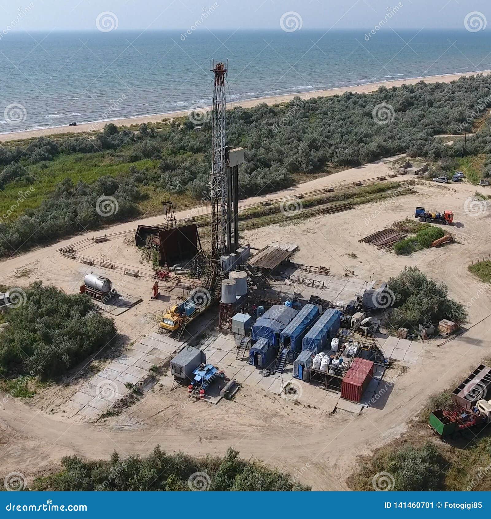 Mise en oeuvre de la réparation d un puits de pétrole