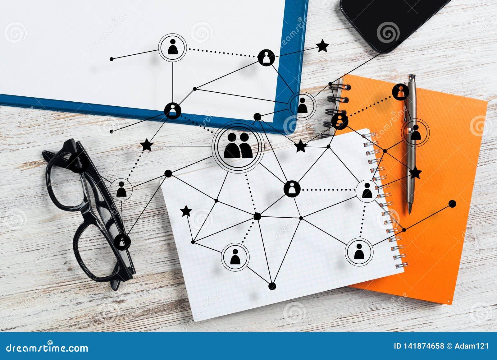 Mise en réseau et concepts sociaux de communication