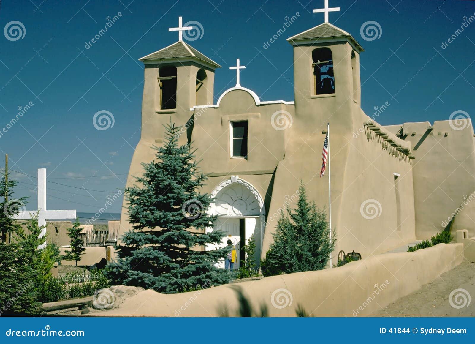 Download Misión de New México foto de archivo. Imagen de nuevo, adobe - 41844