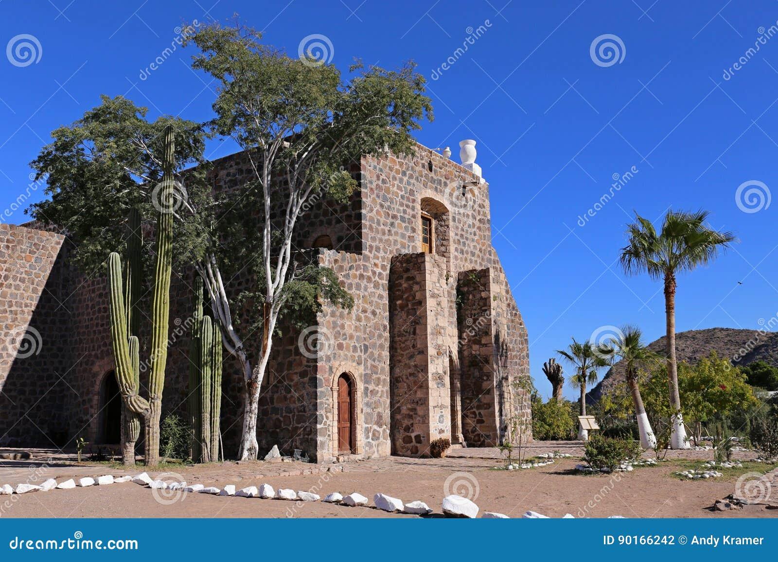 Mision Santa Rosalia De Mulege, Baj Kalifornia