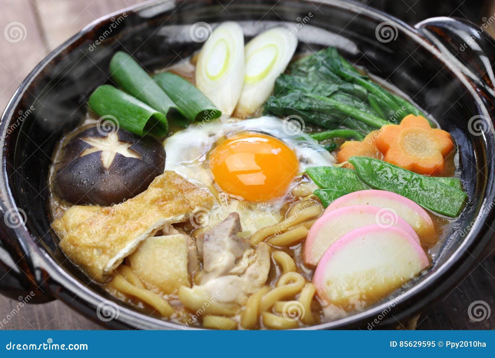 Dish Food Japanese Miso Nikomi Noodle Soup