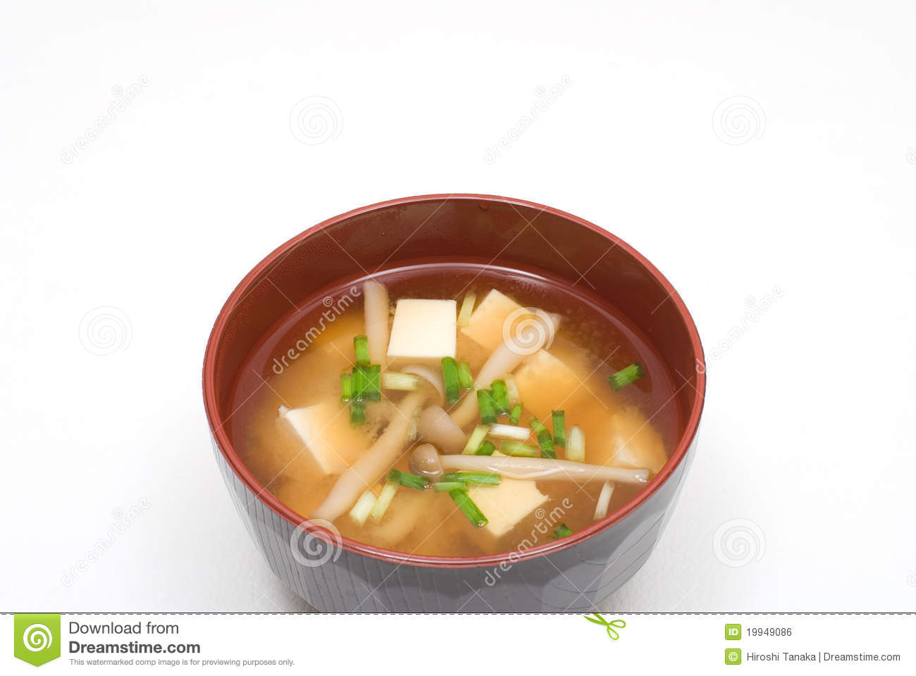 Miso Soup Royalty Free Stock Image - Image: 19949086