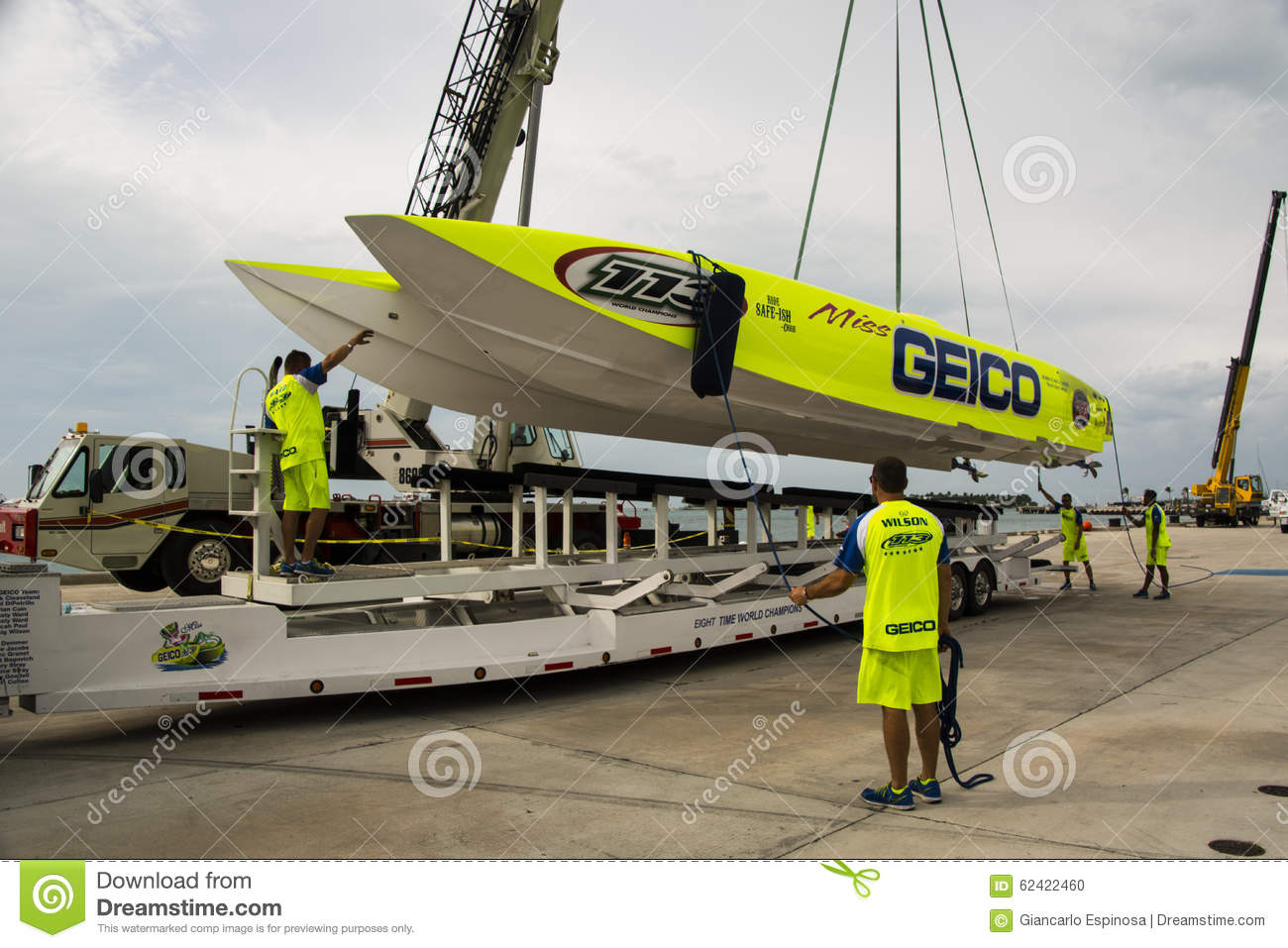 Miss Geico Superboat Editorial Image - Image: 62422460