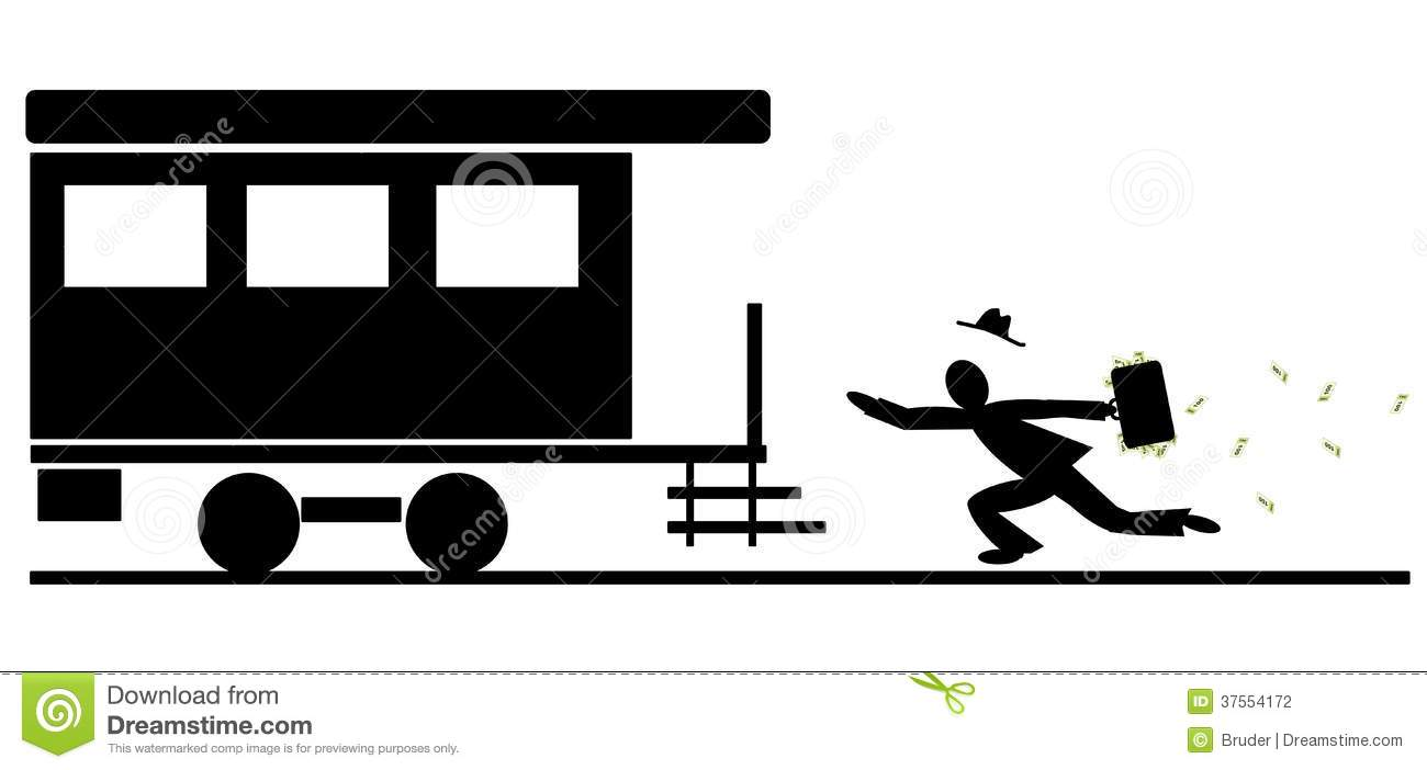 miss the train stock vector illustration of money Cartoon Cars Clip Art Black and White Cartoon Race Car Clip Art