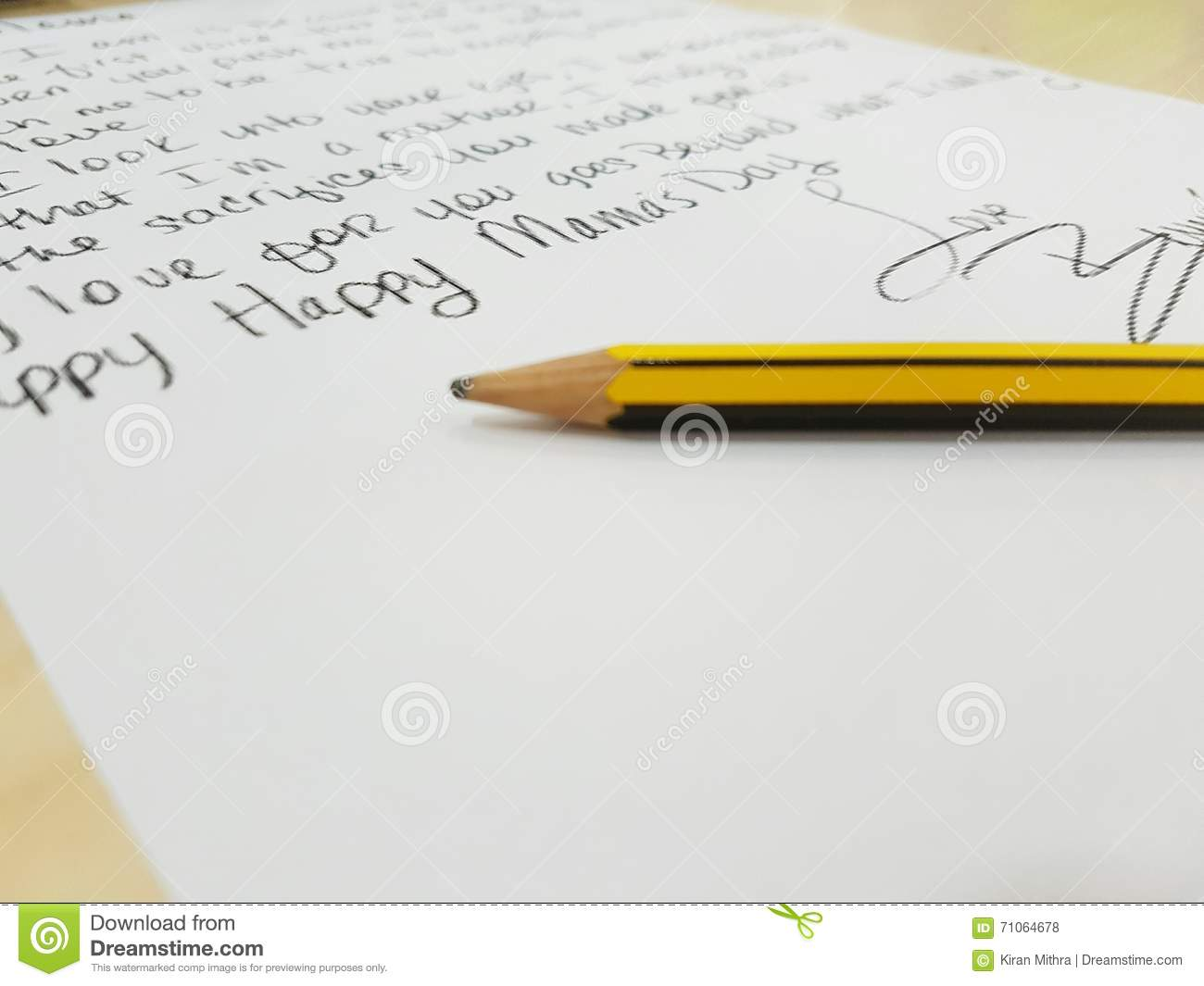 Miss you Mom stock photo  Image of miss, mothers, letter