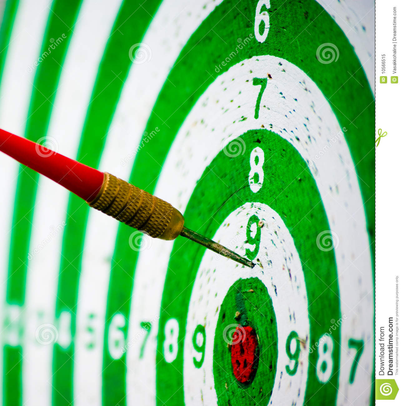 Missed Target Royalty Free Stock Photo Image 10566515