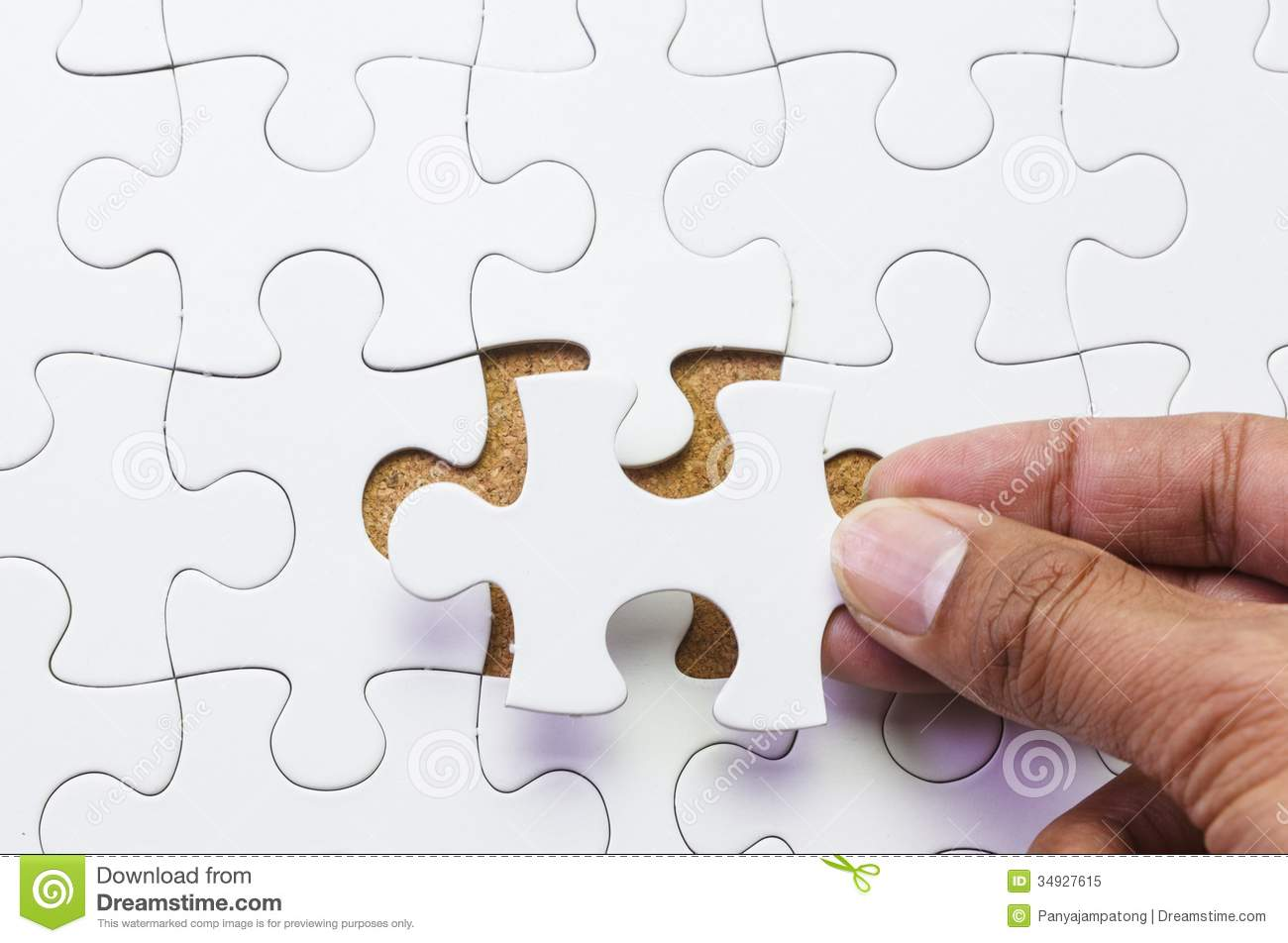 how to make a missing puzzle piece