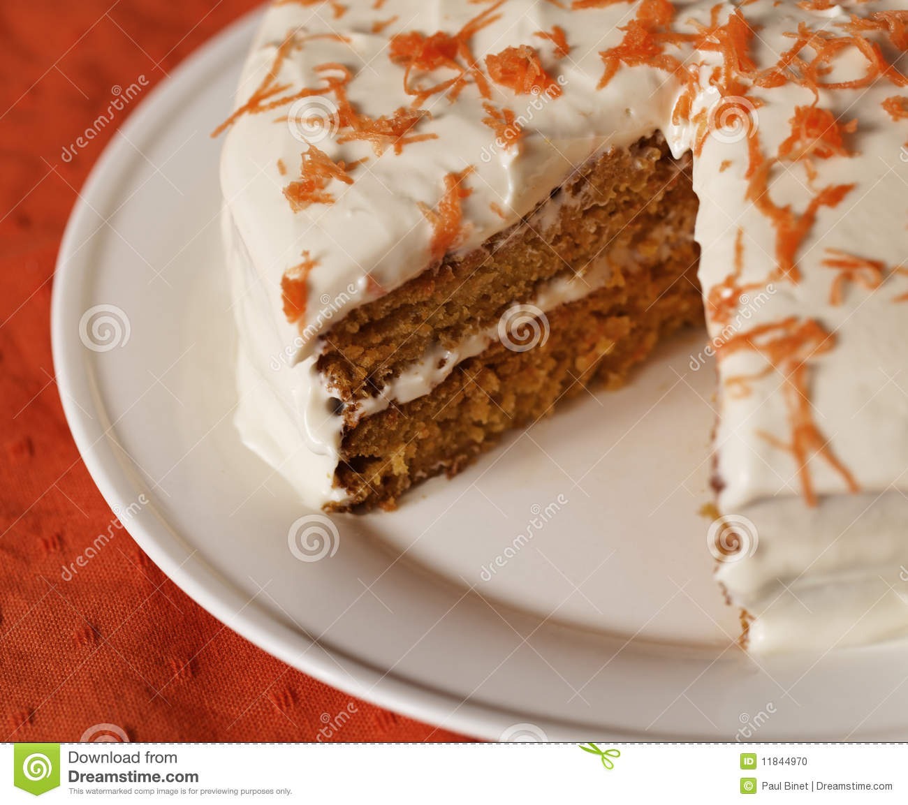Calories In A Slice Of Homemade Carrot Cake