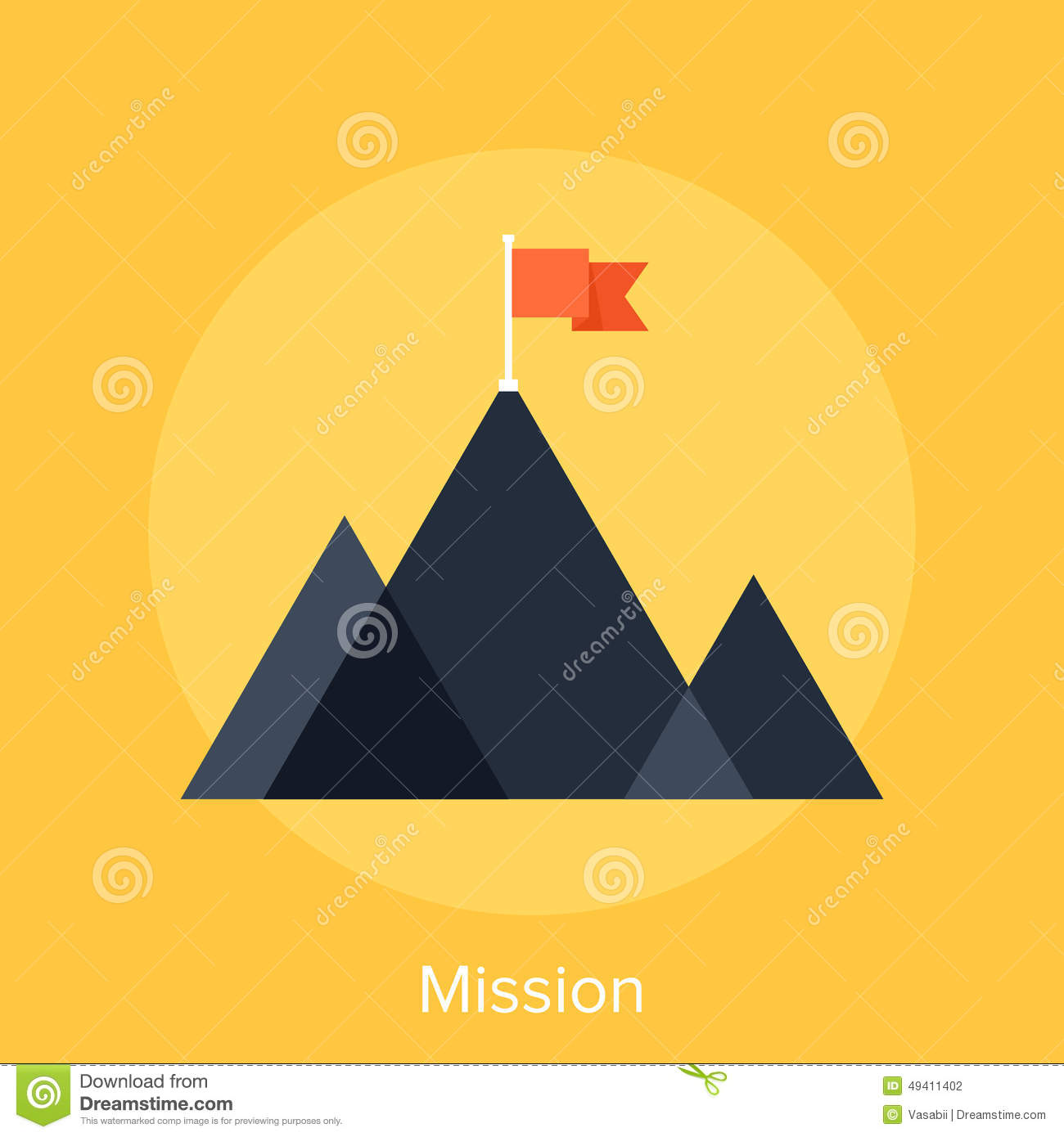 Download Mission stockfoto. Bild von mission, strategie, berg - 49411402