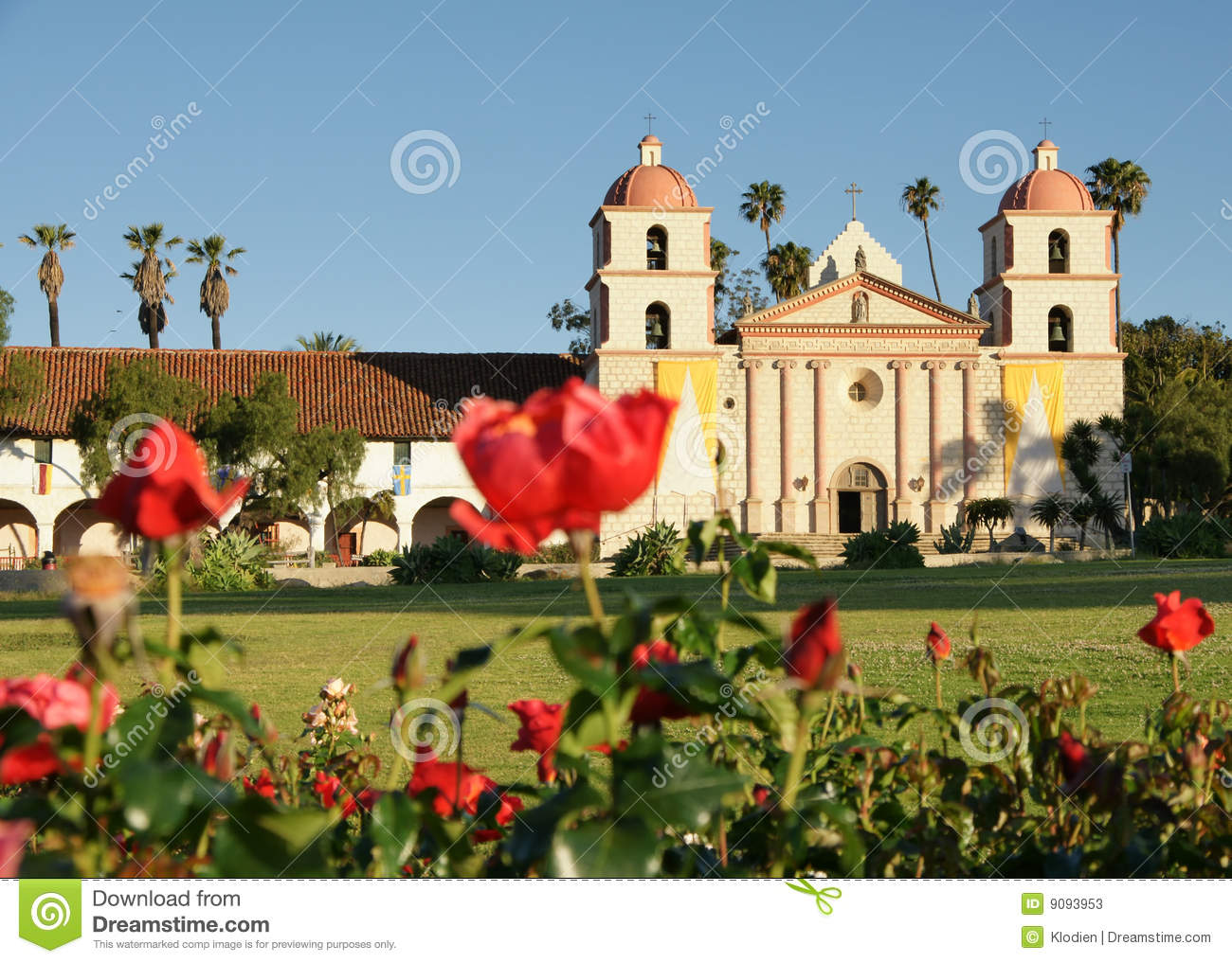 Mission Red Roses Santa Barbara
