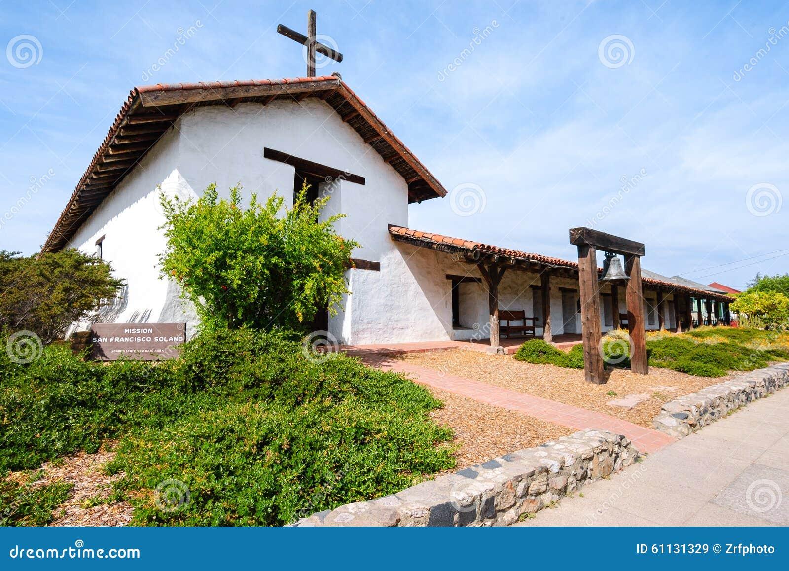 Download Mission San Francisco Solano Stock Image - Image of mission, catholic: 61131329