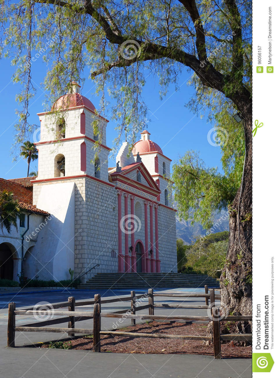 Mission Santa Barbara, la Californie