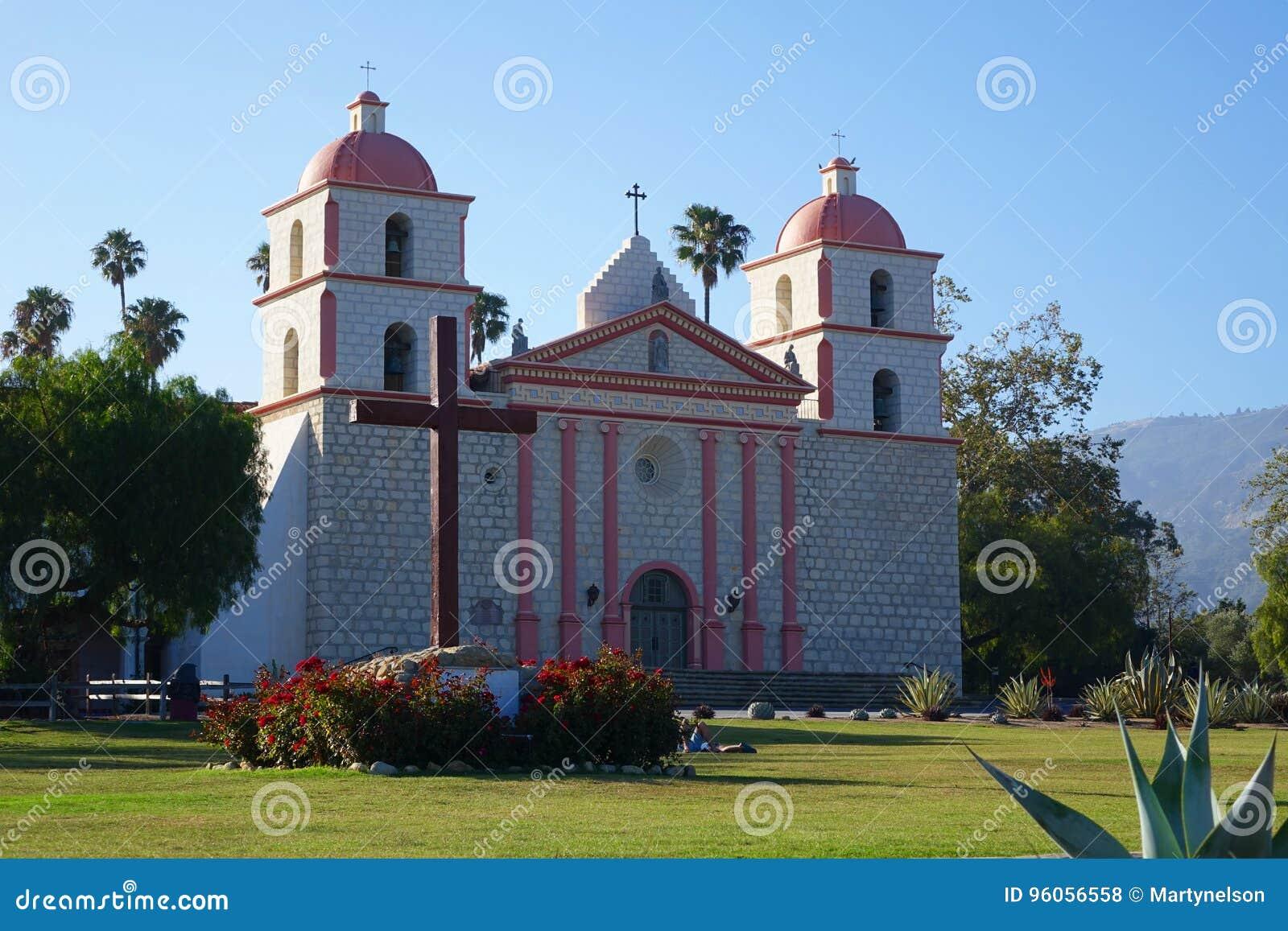 Mission Santa Barbara, la Californie