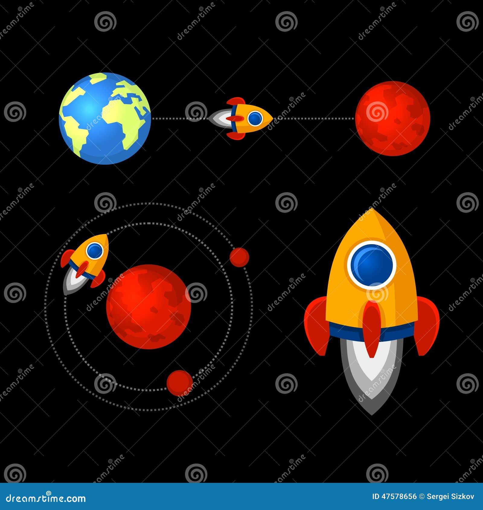 mars planet vector - photo #25