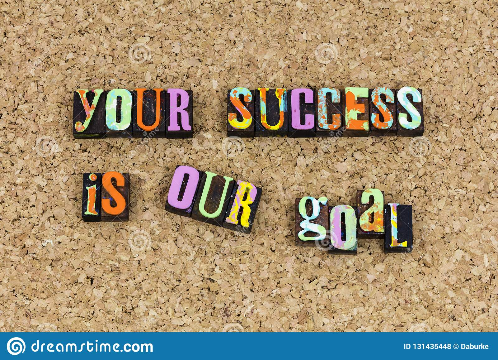 Your success is our goal mission