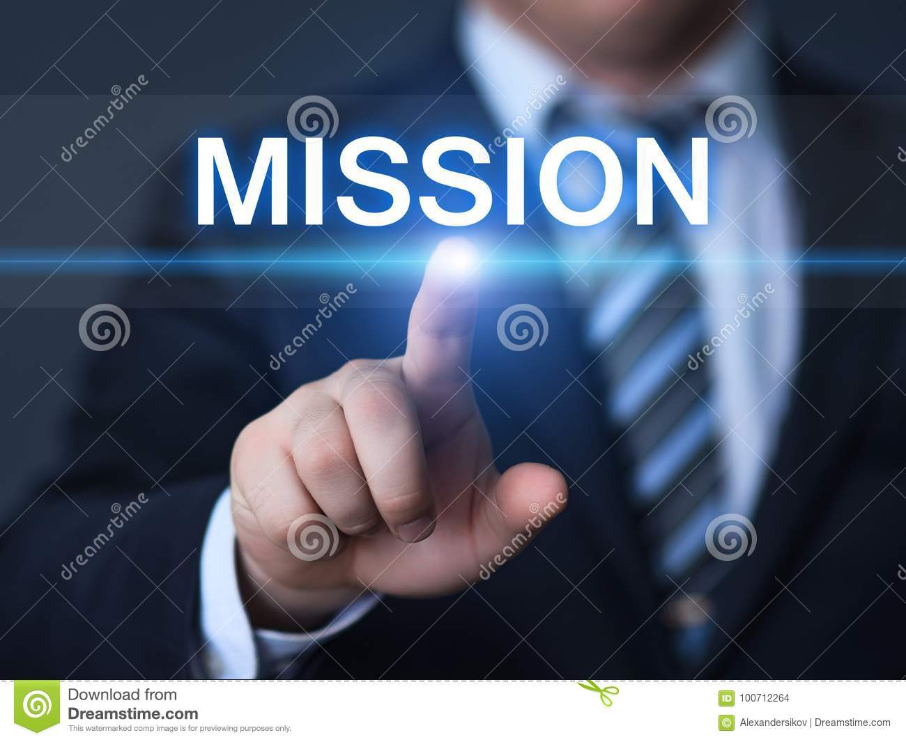 Mission Vision Strategy Company目标企业互联网技术概念
