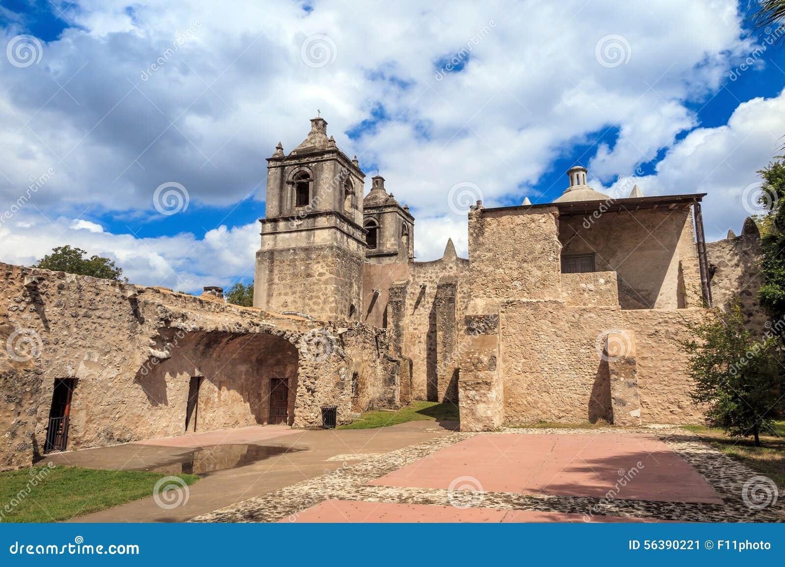 Missione Concepción, San Antonio, il Texas