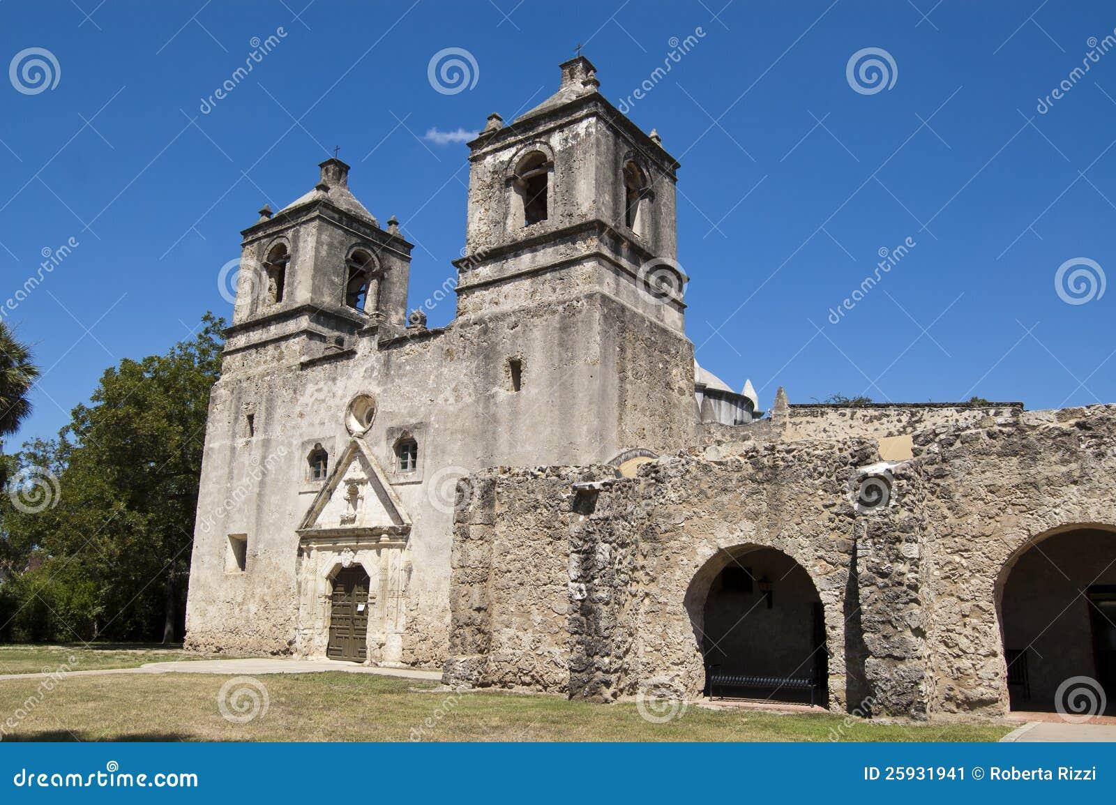 Missione Concepción, San Antonio, il Texas, S.U.A.