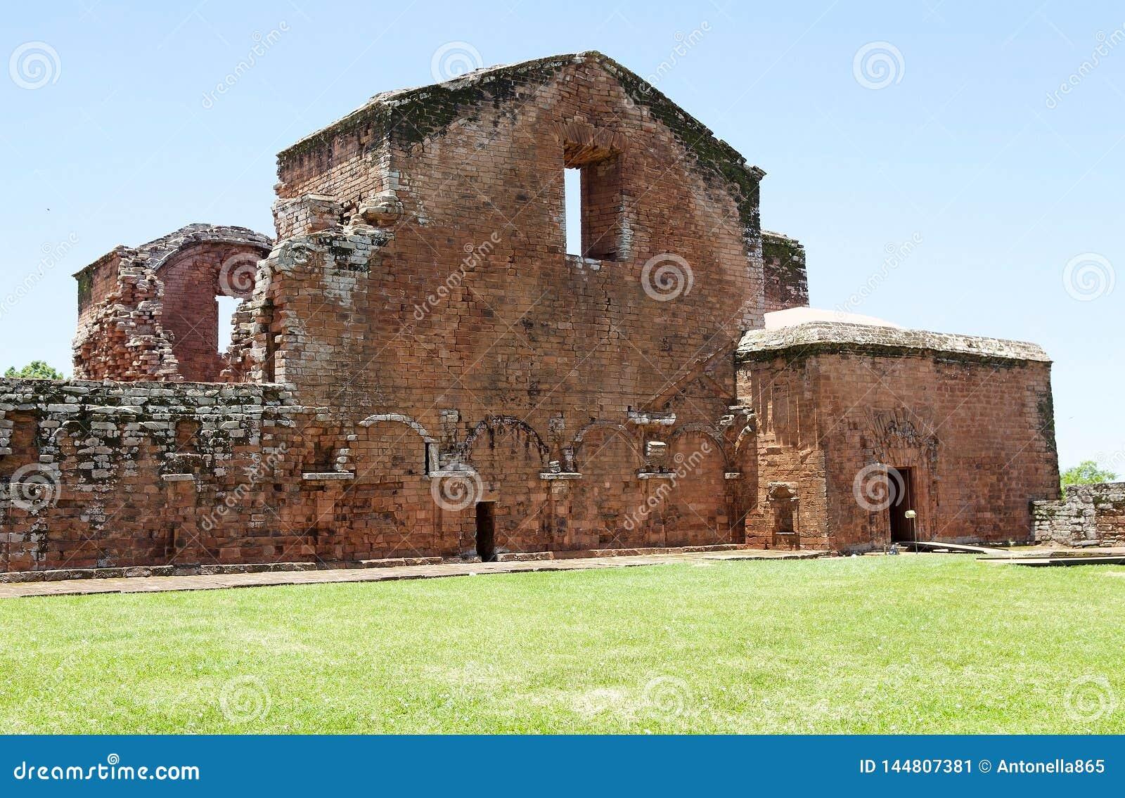 Missions de jésuite de La Santisima Trinidad de ParanÃ, Paraguay