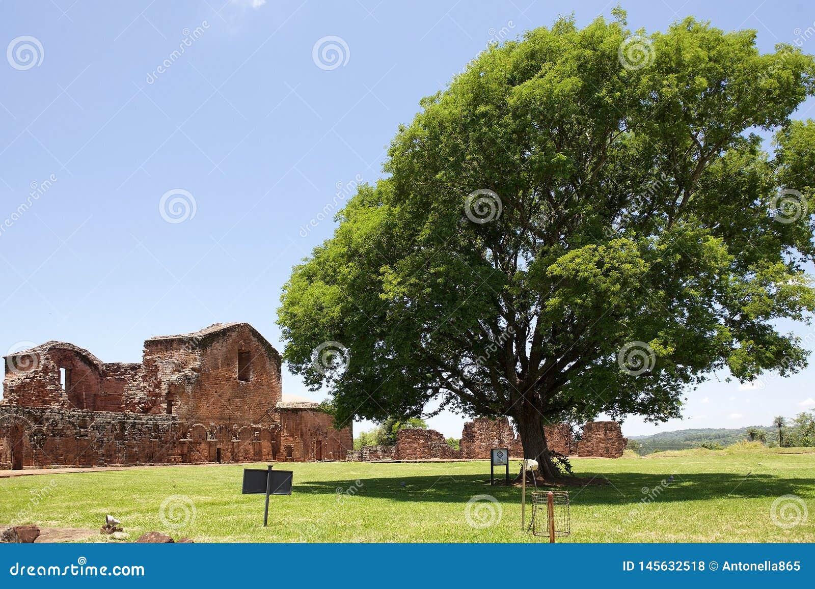 Missions de j?suite de La Santisima Trinidad de Paran?, Paraguay
