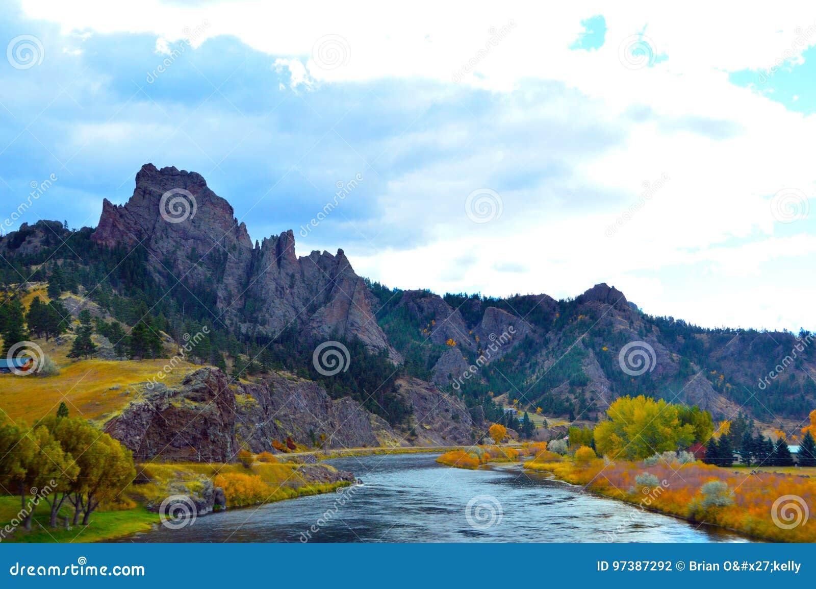 Missouri rzeki kolory