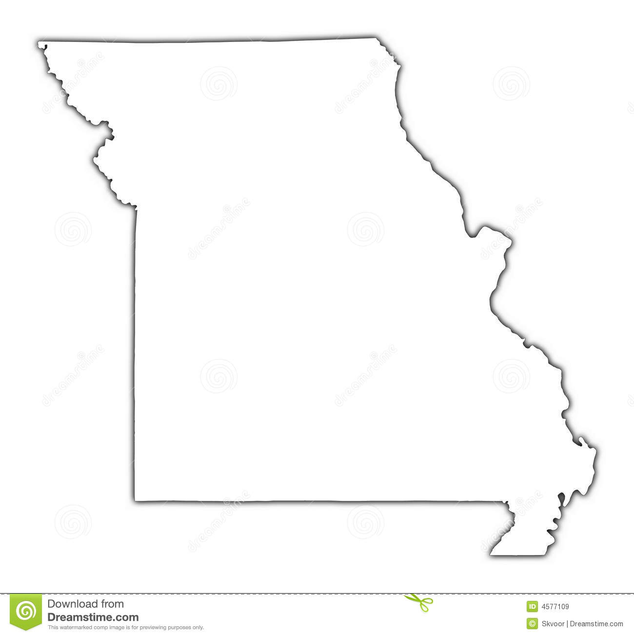 Missouri Map Outline Missouri Map - Missouri state map usa