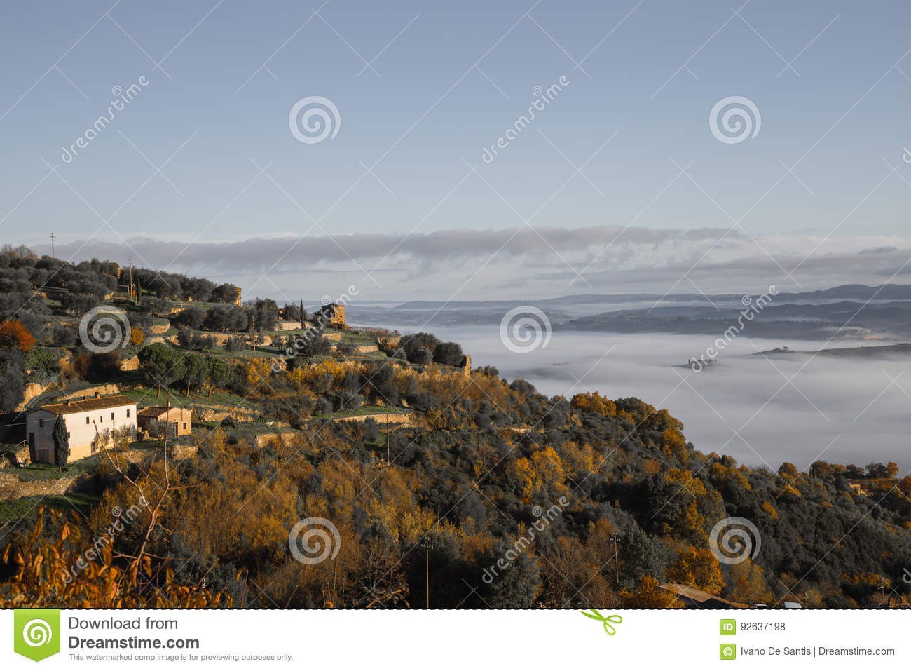 Mist in Val D ` Orcia