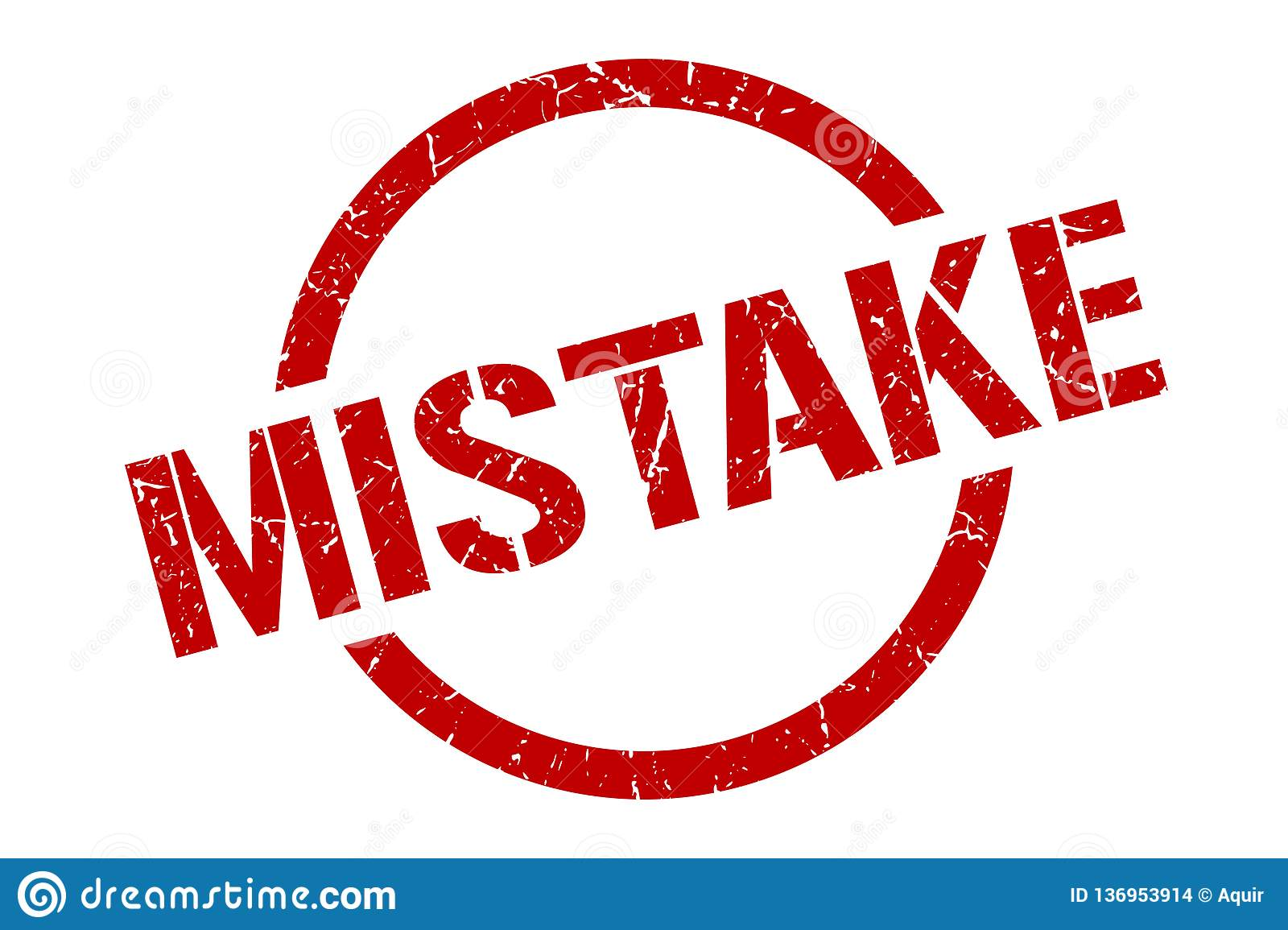 Mistake Stamp Stock Illustrations – 1,214 Mistake Stamp Stock ...