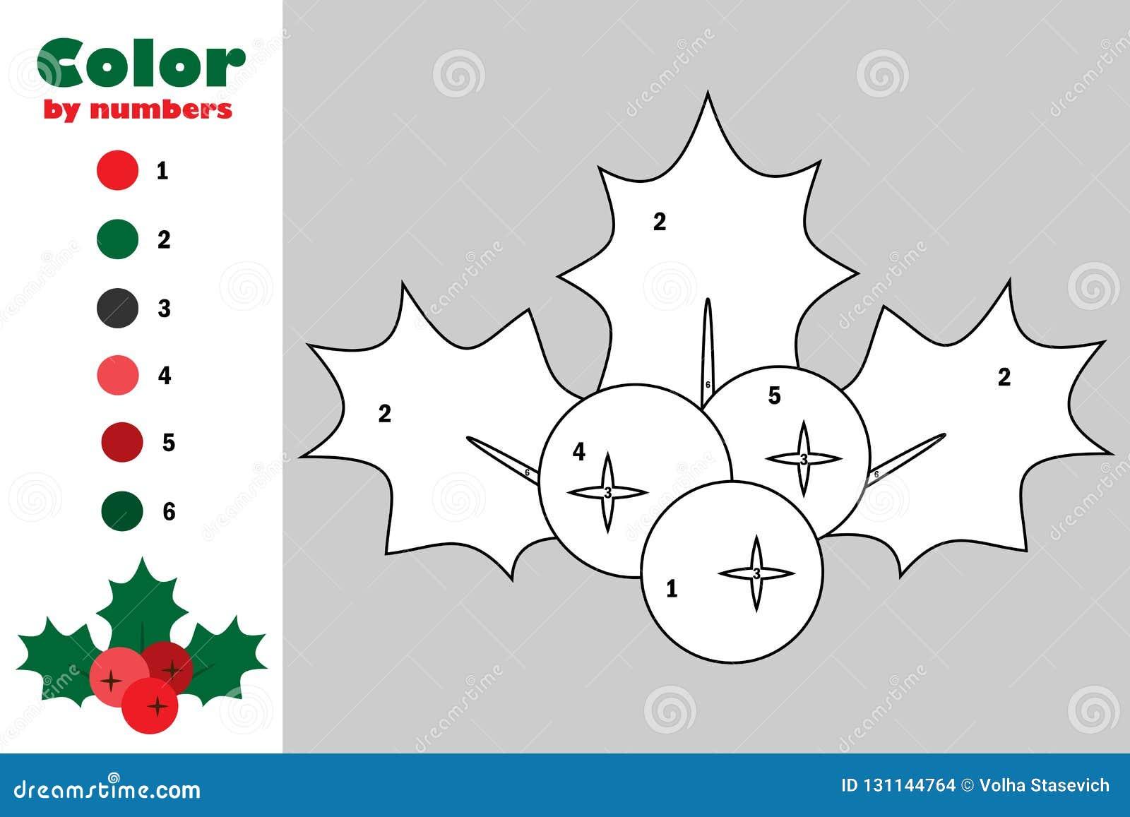 photo relating to Printable Mistletoe identify Mistletoe Berry Holly Cartoon Design and style, Colour Through Variety