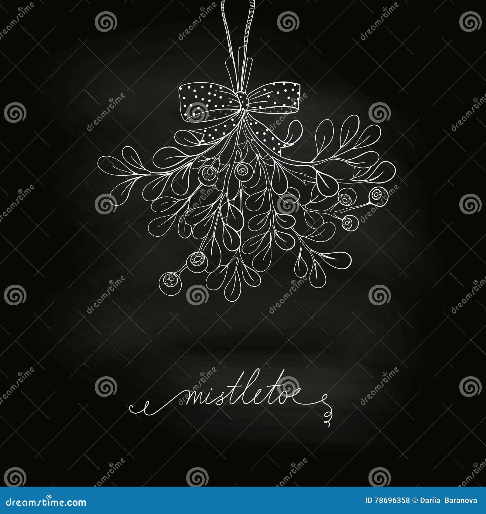 Xmas Mistletoe Clipart