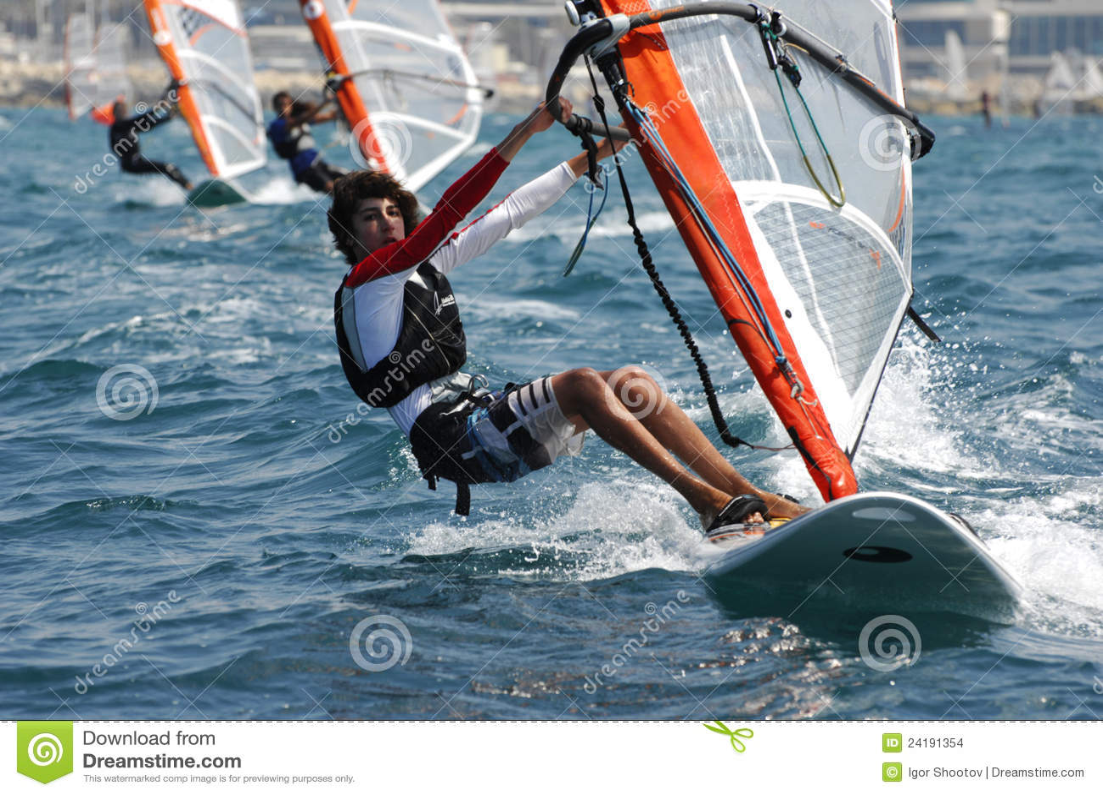 Mistrzostwa Israel jachtu młodość