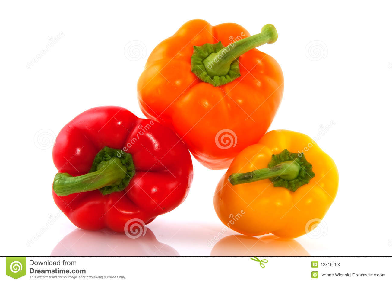 Mistura colorida da paprika