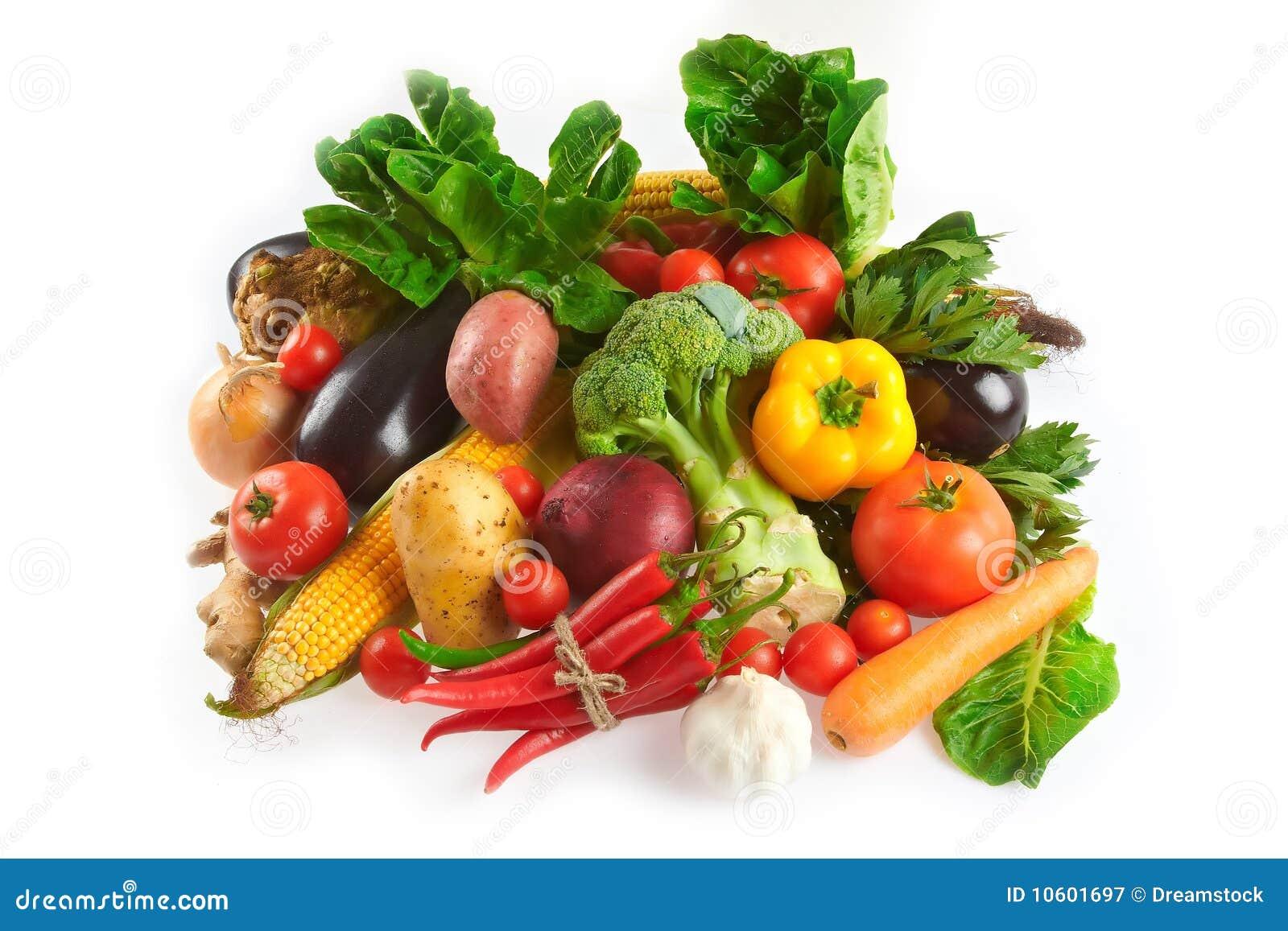 Mistura de frutas e verdura