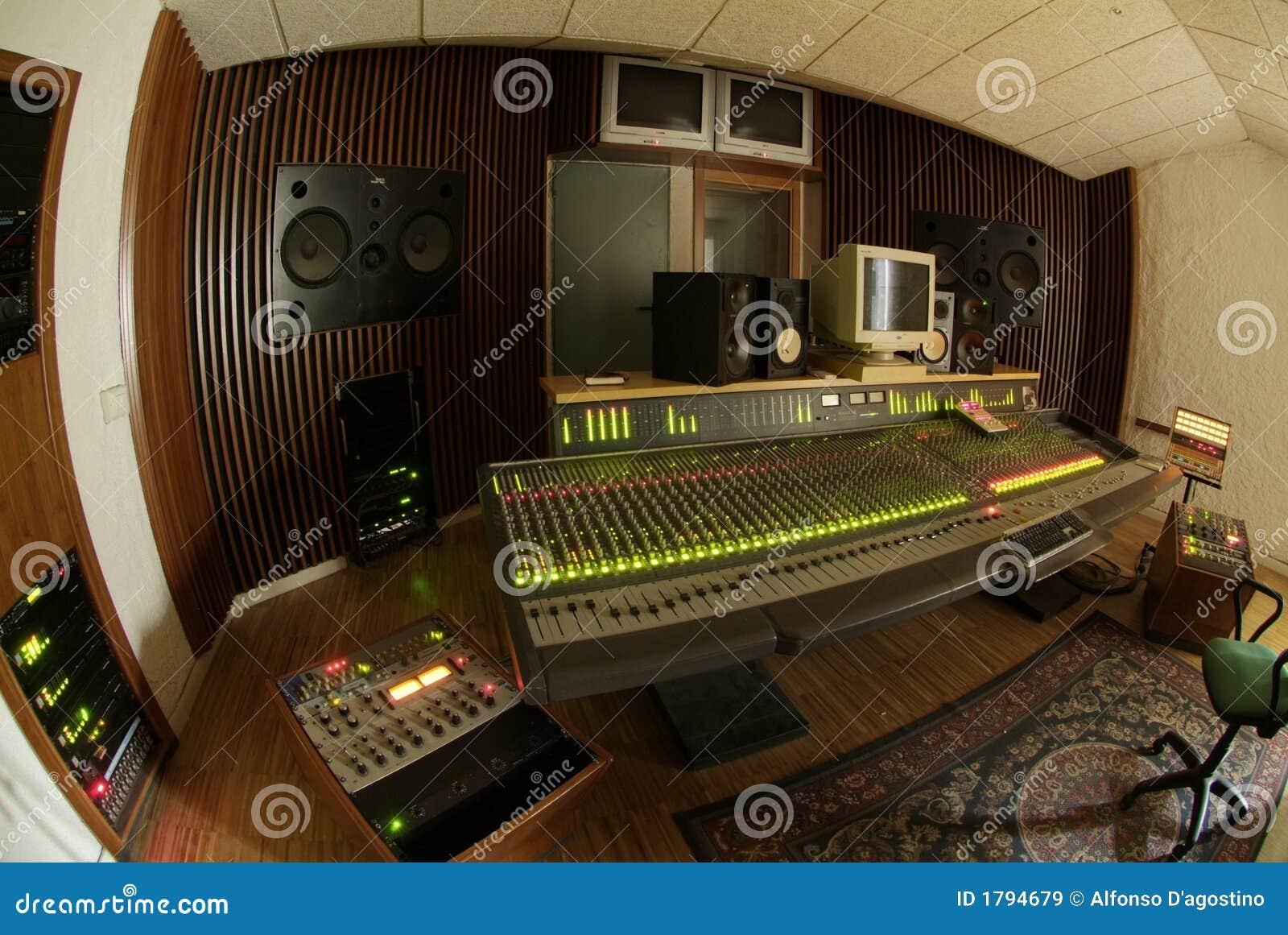 Misturador audio profissional
