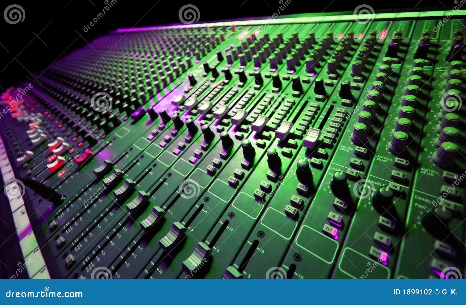 Misturador da música